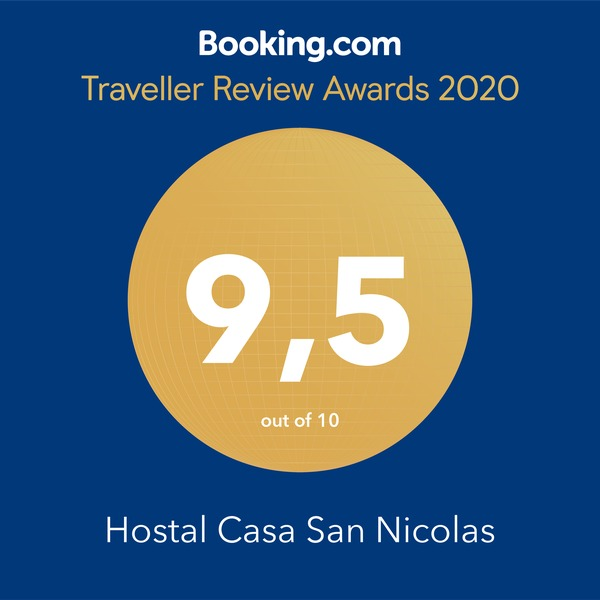 HostalCasaSanNicolas Award Booking 2018